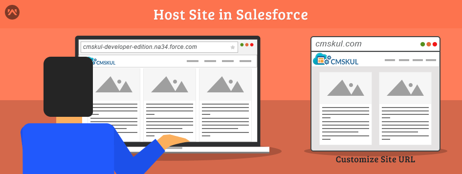 How to Host Site In Salesforce