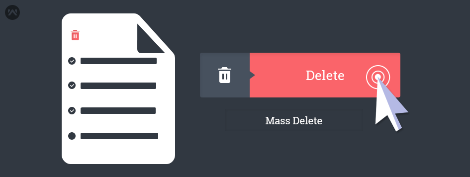 Delete multiple records without apex code in Salesforce