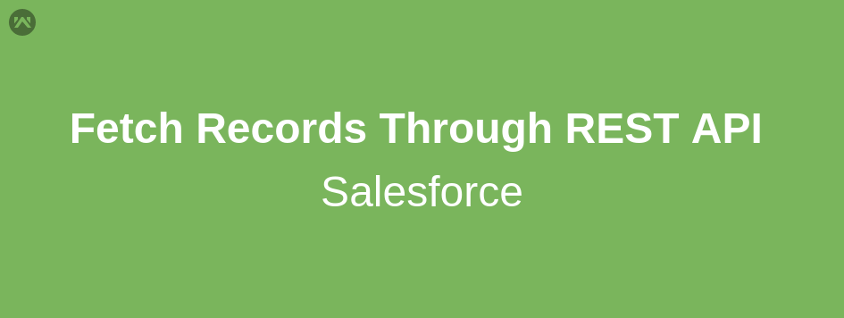 How to fetch records through REST API in Apex class Salesforce