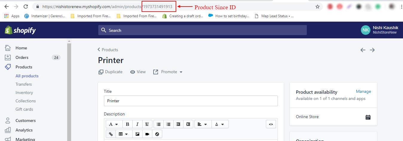 Shopify Salesforce Connector - eShopSync