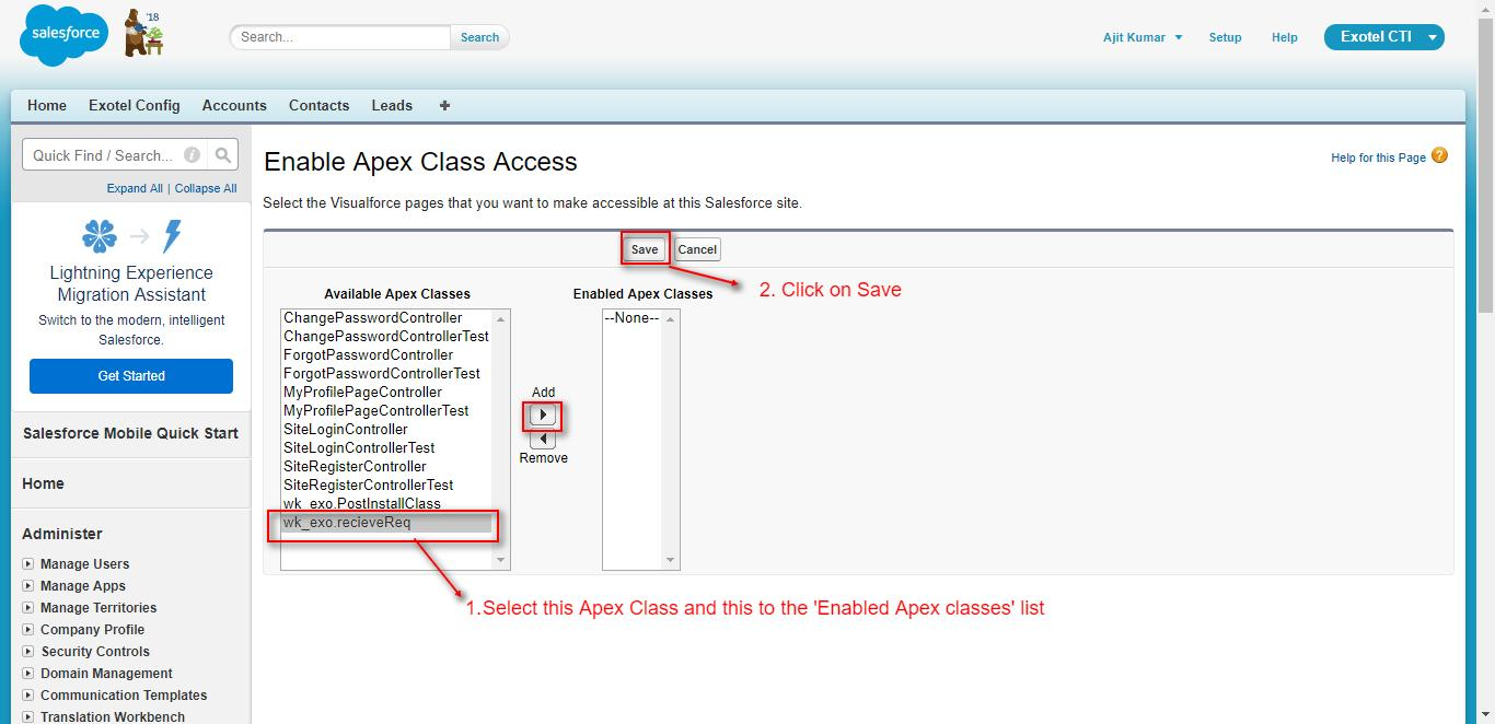 Salesforce Exotel CTI Connector| Salesforce Integration with
