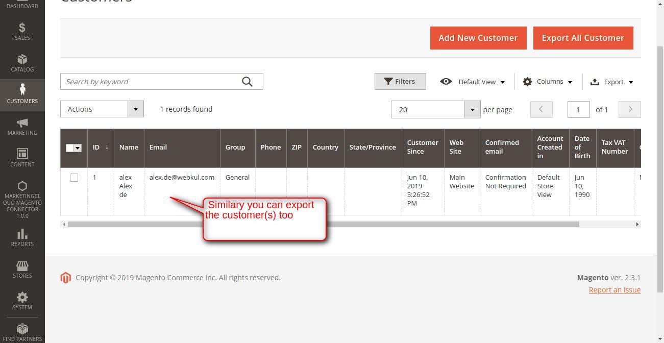 Customers _ Customers _ Magento Admin