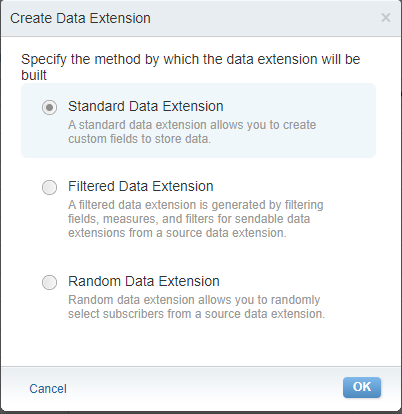 Data Extension